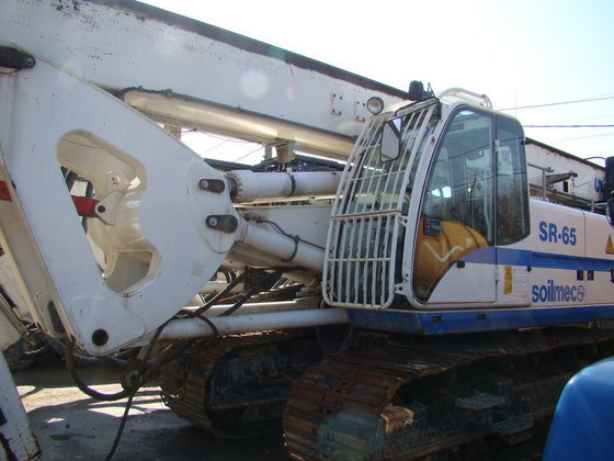 2011 SOILMEC SR-60 drilling rig