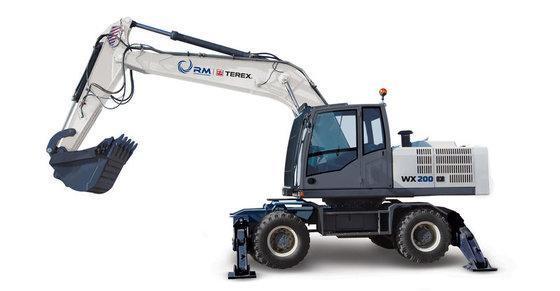 2016 TVEKS WX200 wheel excavator