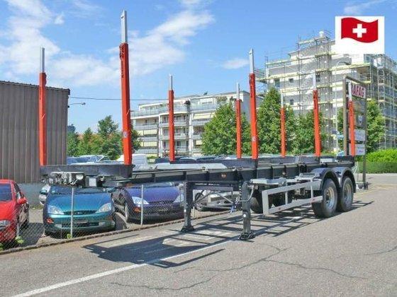 2012 ATS -Sattelauflieger timber semi-trailer