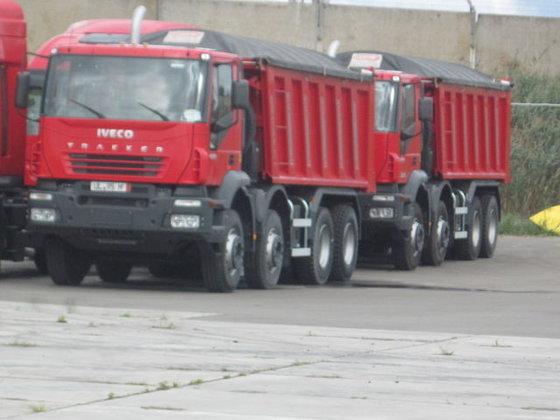 2013 IVECO TRAKKER dump truck