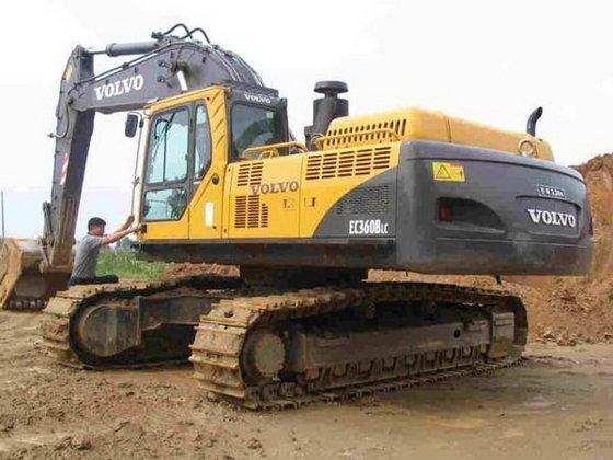 2008 VOLVO 360 tracked excavator