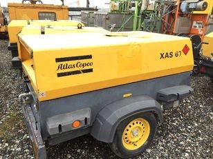 2007 Atlas Copco XAS67DD compressor