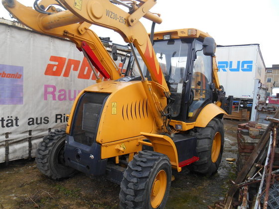 2011 HYDROS WZ30-25G backhoe loader