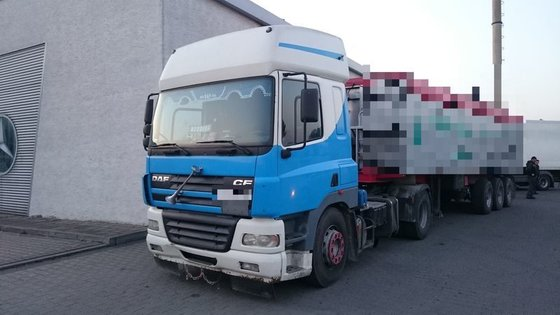 2002 DAF CF 75 tractor