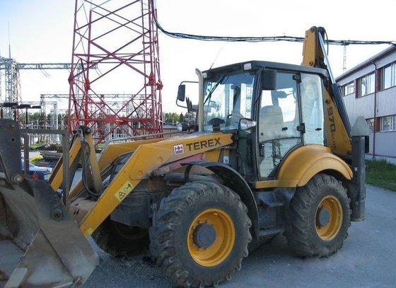 2006 TEREX 970 backhoe loader