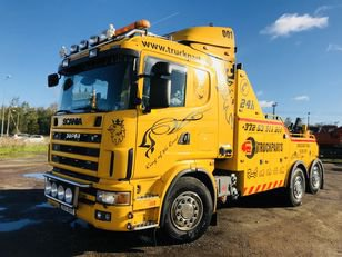 1999 SCANIA R144 tow truck