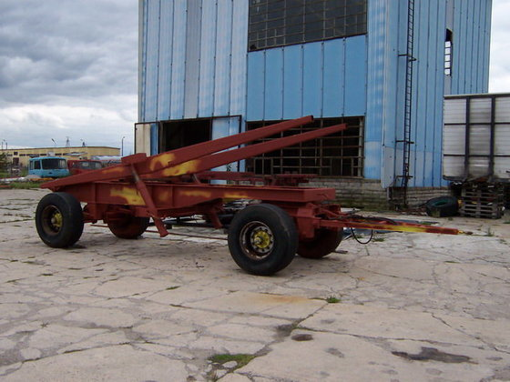 1987 MOL tipper trailer in