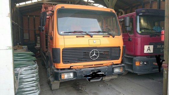 1988 MERCEDES-BENZ 1617 chassis truck