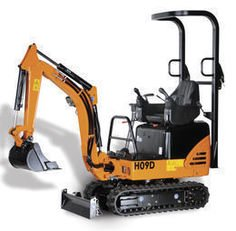 HANIX H09B mini digger in