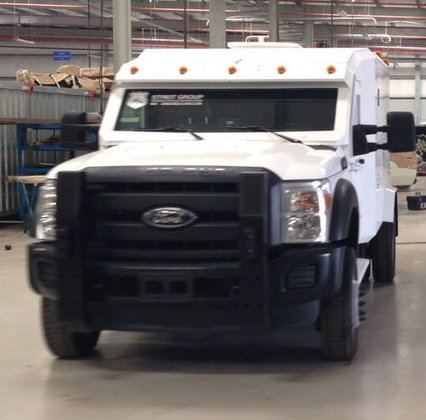 2015 FORD F550 Armored Ambulance