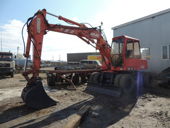 1991 ATLAS 1304 wheel excavator