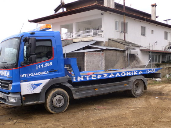 2015 MERCEDES-BENZ Atego tow truck