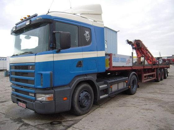 1999 SCANIA Scania 114/340 timber