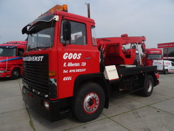 1972 SCANIA LB110 tow truck