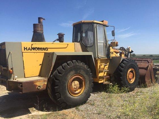 1997 HANOMAG 70 E wheel