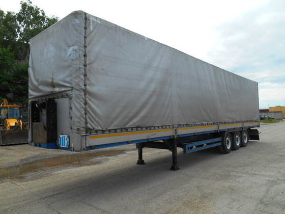 2007 KÖGEL BORDWAND tilt semi-trailer