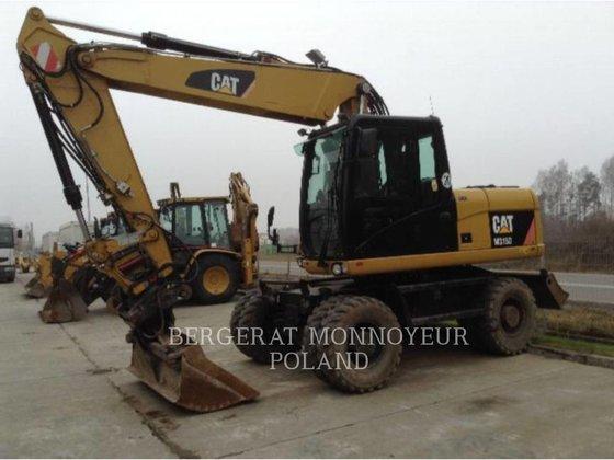 2010 CATERPILLAR M315D wheel excavator