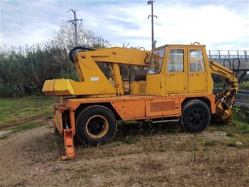TABARELLI T610F mobile crane in