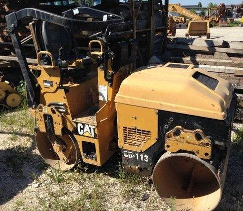 2007 CATERPILLAR CB 113 mini