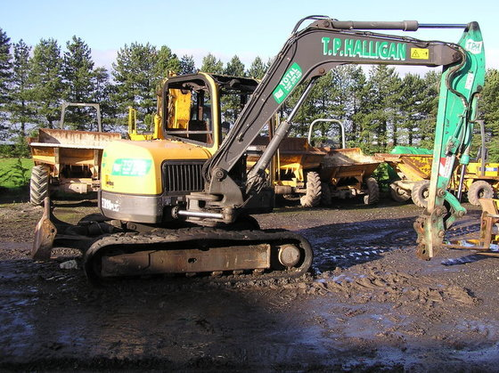 VOLVO ECR 88 Plus for