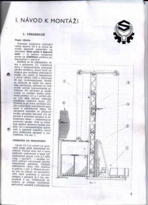 VS5 tower crane in Velké
