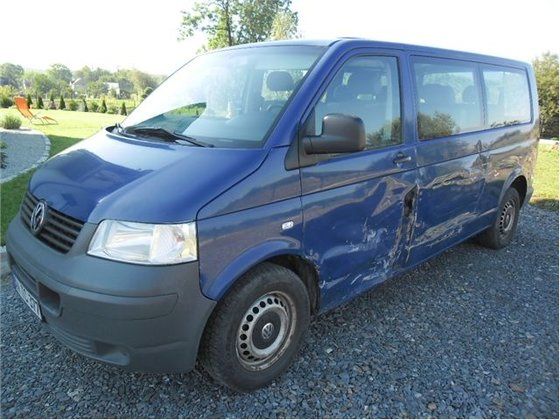 2004 Damaged VOLKSWAGEN T-5 2,5Tdi
