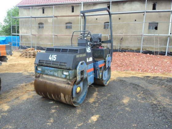 1998 BOMAG 125ADH road roller