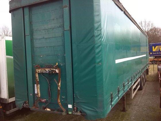 1996 KRONE SDP tilt semi-trailer