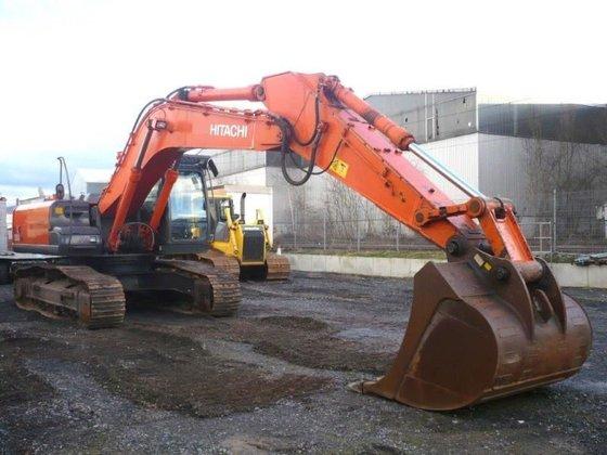 2008 HITACHI ZX350LCN-3 tracked excavator
