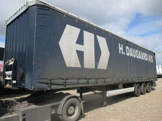 2007 KRONE tilt semi-trailer in