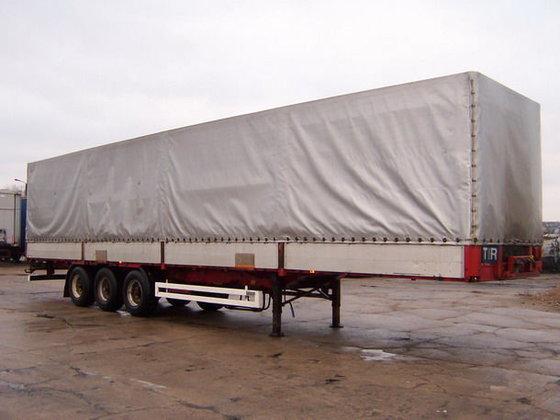 1997 KRONE 27 tilt semi-trailer
