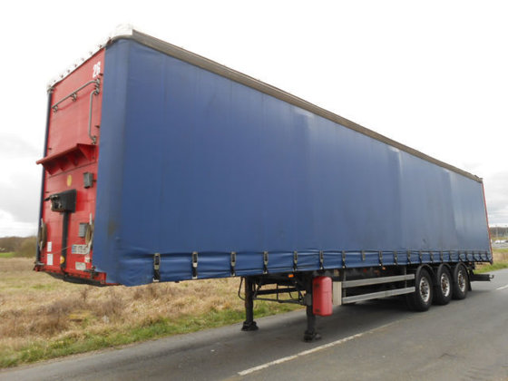 2003 SAMRO tilt semi-trailer in