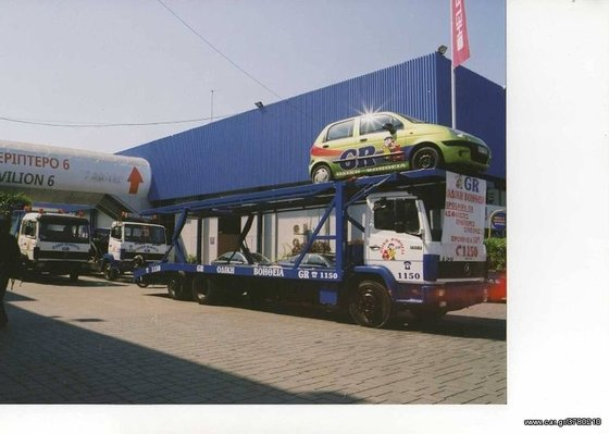 BIM car transporter in Greece