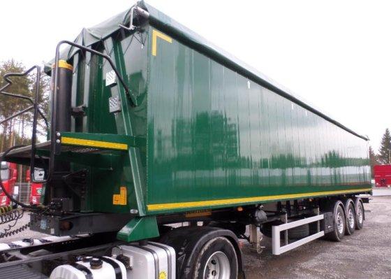 2015 WIELTON tipper semi-trailer in