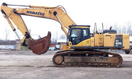 2008 KOMATSU PC600LC-8K tracked excavator