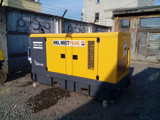 2009 Atlas Copco QAS60 generator
