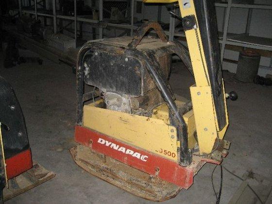 2007 DYNAPAC LG500 plate compactor