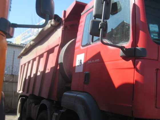 2010 MAN TGA 41.480 dump