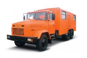 2016 KRAZ 65053 masterskaya military