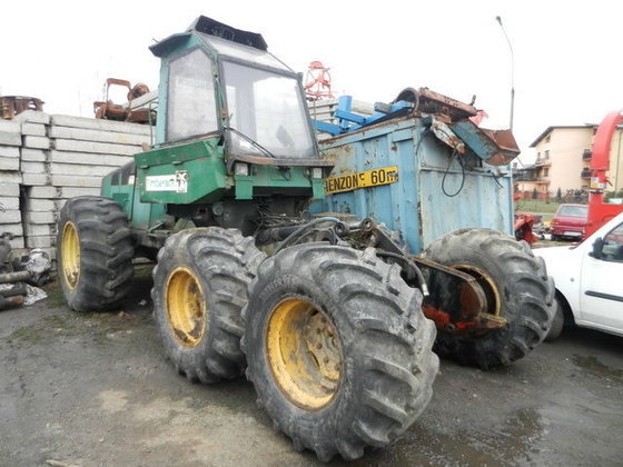 1995 TIMBERJACK 1270 A HARWESTER