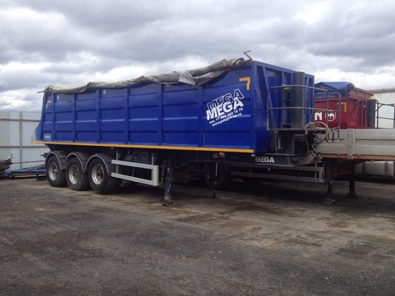 2013 MEGA tipper semi-trailer in