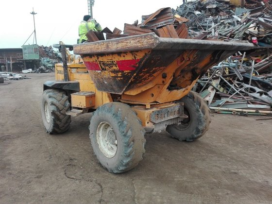 2004 BARFORD SXR8000 mini dumper