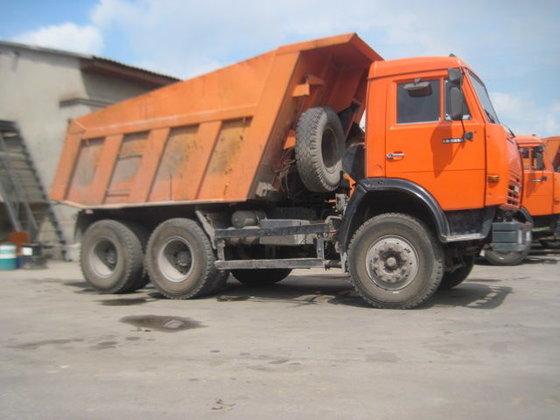 2008 KAMAZ 65115 dump truck