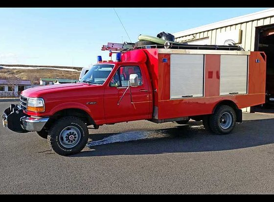 1992 FORD F-350 SUPER-DUTY, 4x4