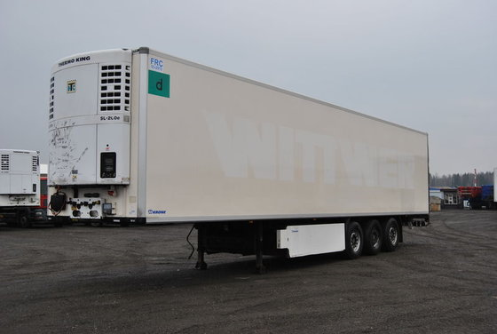 2006 KRONE SDR27 refrigerated semi-trailer