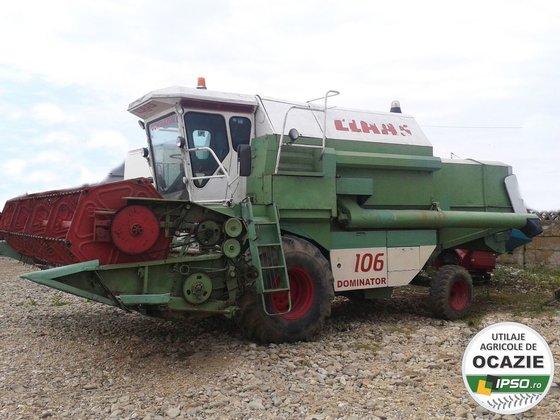 1986 CLAAS Dominator 106 combine-harvester