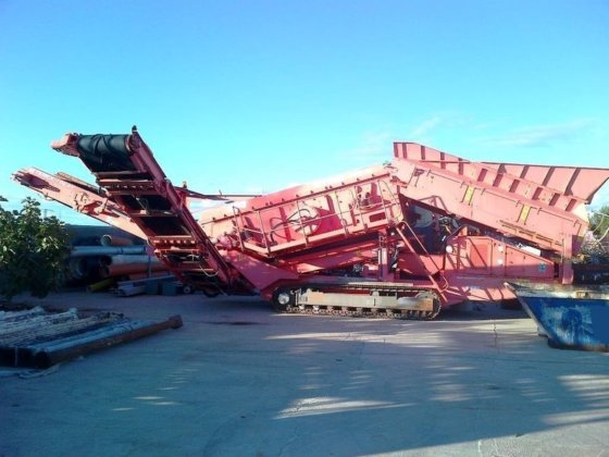2008 FINLAY 883R crushing plant