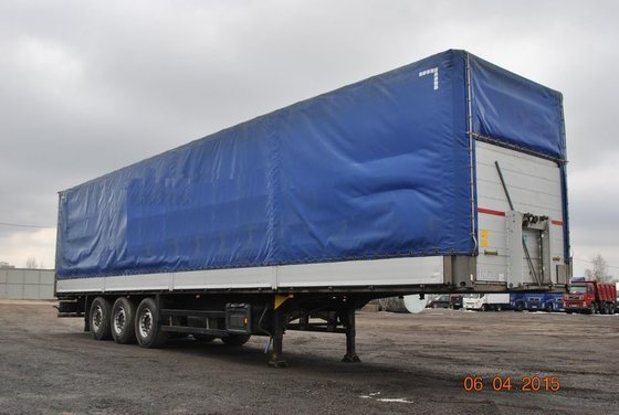 2010 SCHMITZ tilt semi-trailer in