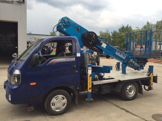 2014 Dasan DS-180S bucket truck