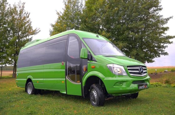 2016 MERCEDES-BENZ Sprinter 519 Bluetec